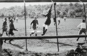 Freundschaftsspiel gegen RW-Frankfurt undatiert