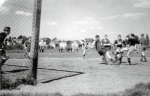 Spielszene 1950 Kerb Sportplatz