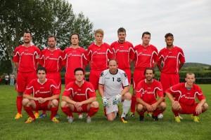 Mannschaftsfoto SV Assenheim, stehend v.l.n.r.: sitzend v.l.r.: , Teamfoto SV Assenheim - Foto A. Chuc